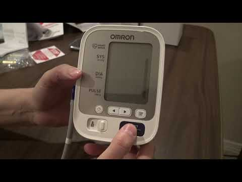 OMRON 5 Series Blood Pressure Monitor Unbox and Review