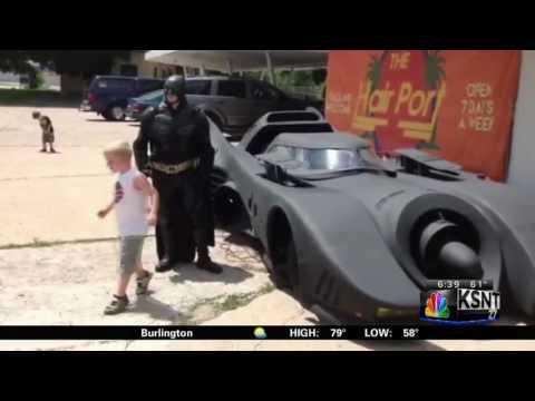 Batmobile in Topeka Kansas