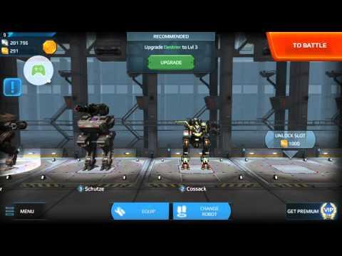 Walking War Robots - Ep 1 The Walking Tank Sniper of Awesomeness  
