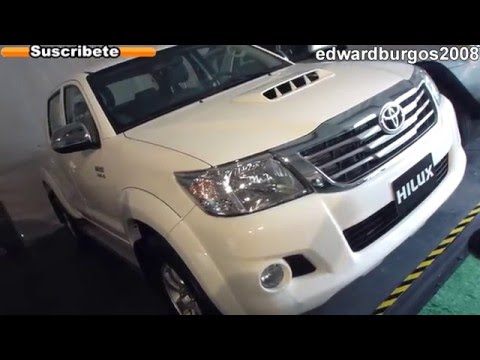 2012 toyota hilux colombia brasil mexico Argentina video de carros auto show FULL HD