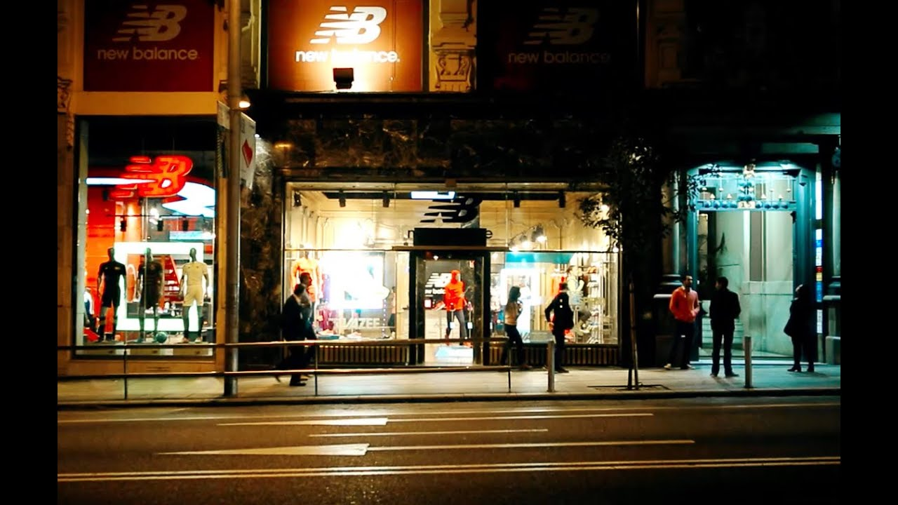 New Balance, Gran Via 15, Madrid (English Subs) - YouTube