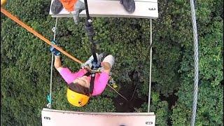 """Wild Bull"" (Toro Salvaje) Extreme Bridge Adventure + Rapell + Zip Line @ Toro Verde Adventure Park"