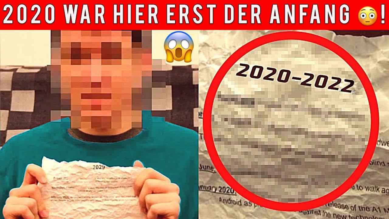 Zeitreisender aus Zeit nach 2021 warnt vor erschreckenden Ereignissen in Zukunft