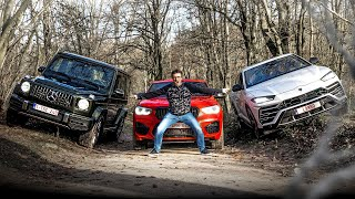 What if I bought an SUV? Lamborghini URUS vs G63 AMG vs X4M