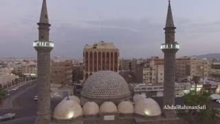 مسجد العنبرية ومحطة قطار الحجازتصوير جوي