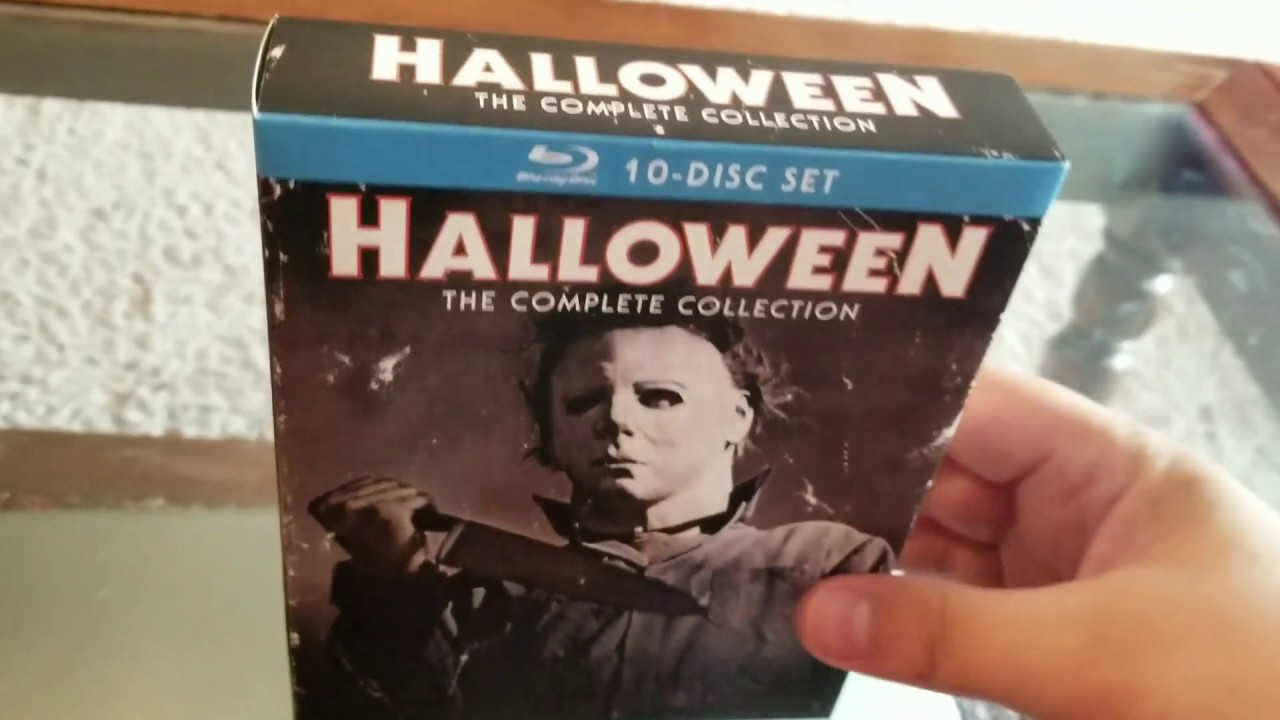 halloween: the complete collection blu ray review - youtube