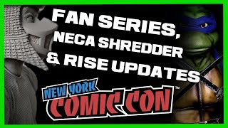TMNT Live-Action Fan Series?! Neca SHREDDER, Rise Of The TMNT Episode NEW Synopsis & More UPDATES!