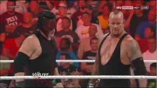 Kane & Undertaker on RAW 1000 [23.07.2012]