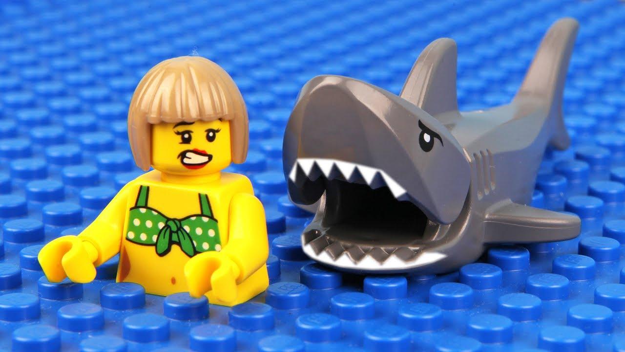 Lego Shark Attack - YouTube