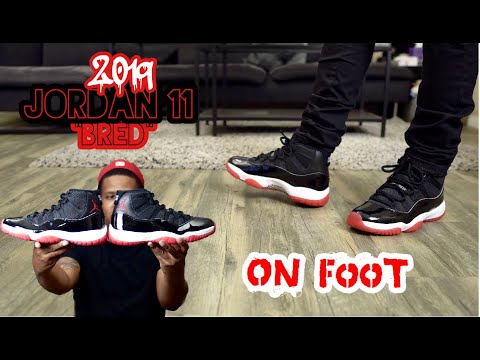 2019 Jordan 11 Bred Review and on Feet!!