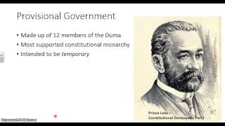 Russia and Soviet Union #1a: The Provisional Government and the Soviet - Part 1
