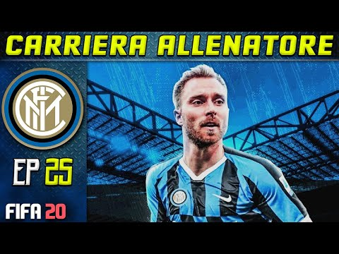 ERIKSEN È DELL' INTER!  | FIFA 20 Carriera Allenatore INTER [#25] ★ ULTIMATE