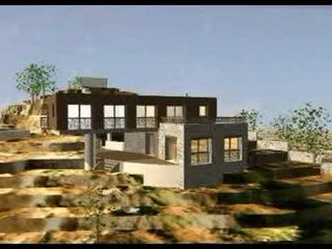 projet d 39 architecture d 39 une maison bbc ecologique contemporaine en corse alta roca youtube. Black Bedroom Furniture Sets. Home Design Ideas