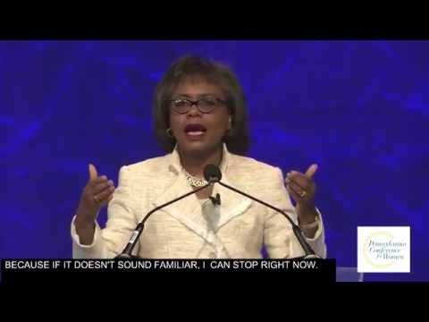 Anita Hill Speaks at the 2016 PA Conference for Women