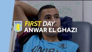 Anwar El Ghazi's first day: Behind-the-scenes on arrival day