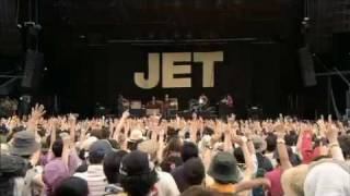 JET - She's A Genius / Are You Gonna Be My Girl  (Live @ Fuji Rock Festival '09)