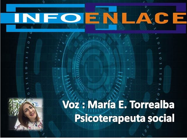 Psicoterapia social - Invitada María Eugenia Torrealba - Infoenlace con Pablo  Rivas