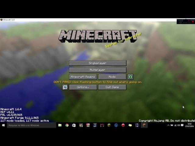 Minecraft: mod sem instalar mod