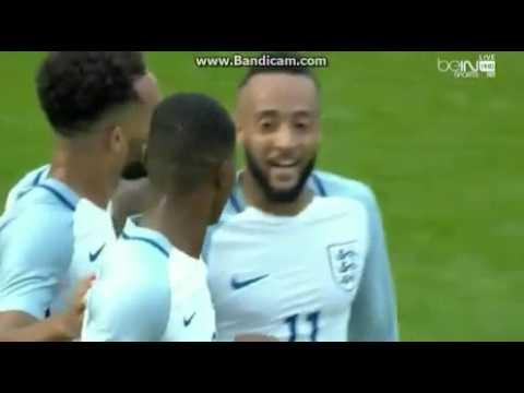 Marcus Rashford Hattrick England Under 21 Debut
