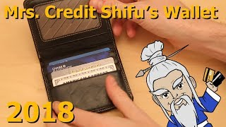 What's in Mrs Credit Shifu's Wallet 2018?