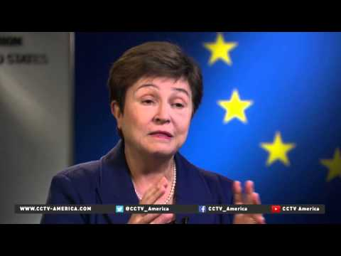 EU Commission's Kristalina Georgieva on Syria humanitarian aid