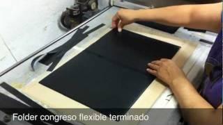 Fabricación Folder Congreso Flexible CARPETAS ALFA