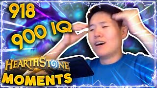 The Smartest Hearthstone Player Well Kinda Hearthstone Daily Moments Ep 918