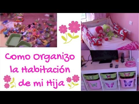 Como organizo la habitaci n de mi hija youtube for Como decorar el cuarto de mi hija