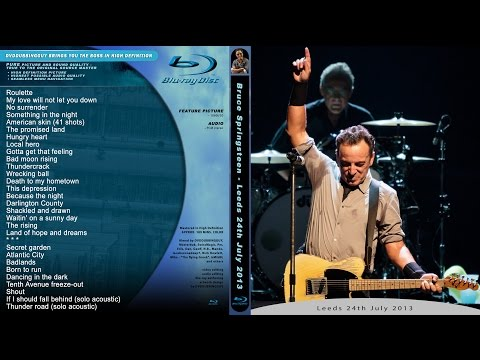 Bruce Springsteen FULL SHOW Leeds 24.7.2013 HD best video in the world!