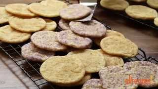 Cookie Recipes - How to Make Chewy Sugar Cookies
