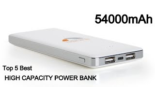 Top 10 Best High Capacity Portable Power Banks For Laptop Smartphone Tablet in 2019