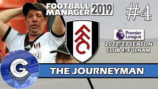 Let's Play FM19 Journeyman | Fulham S5 E4 | RELEGATION? | A Football Manager 2019 Story