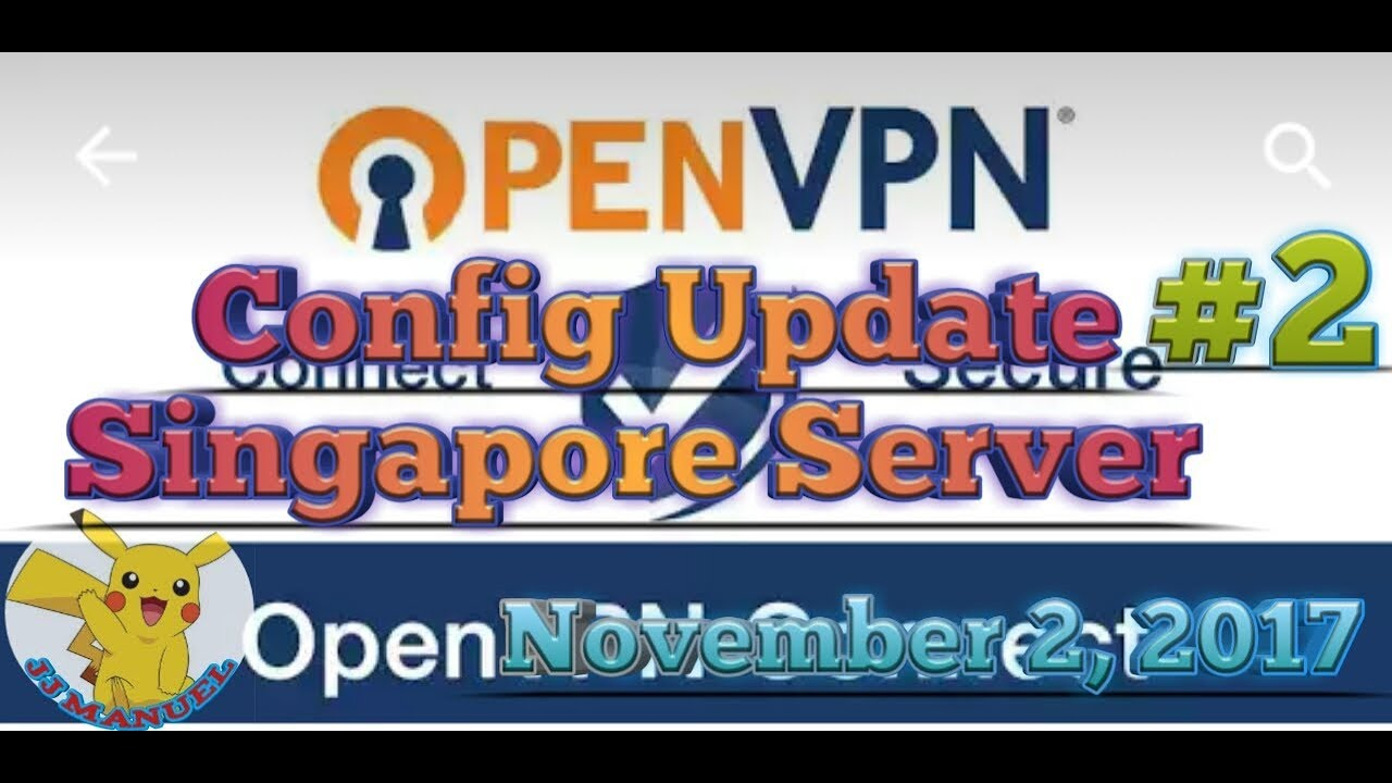 OPENVPN Config  Update Singapore Server