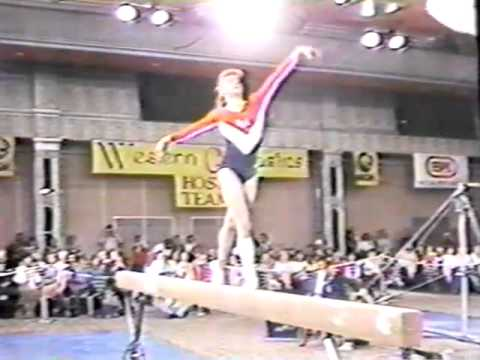 1982 USGF Single Elimination gymnastics Retton Durham Pope B