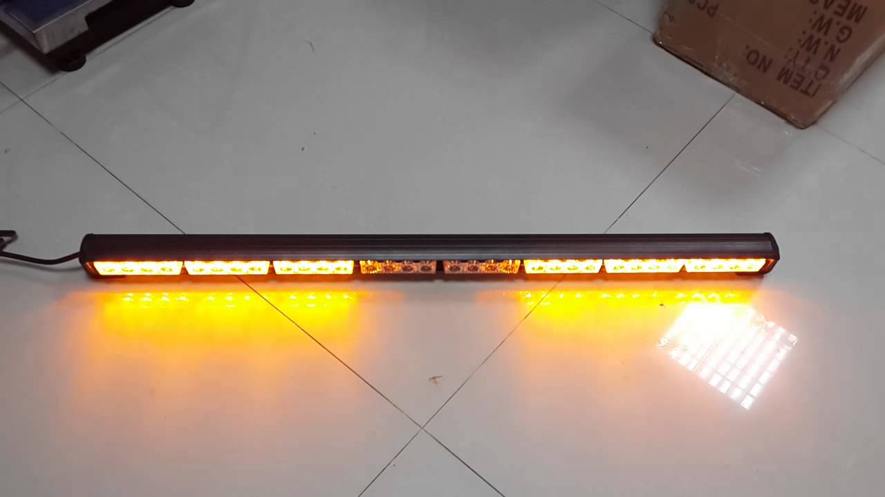 New more flash pattern auto truck 32 led emergency traffic advisor new more flash pattern auto truck 32 led emergency traffic advisor flash strobe light bar warning youtube mozeypictures Images