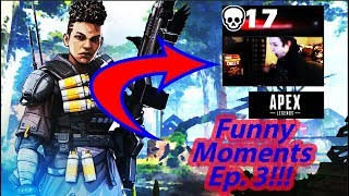 *FUNNY AND RAGE CLIPS* Apex Legends Daily Funny moments and highlight clips Ep. 3