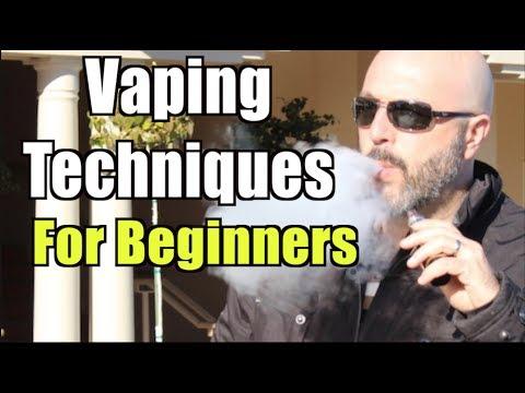 Vaping Techniques For Beginners | Bombshell eLiquid Review