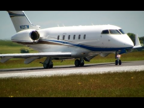 Business Jet Up Close - Bombardier Challenger 300