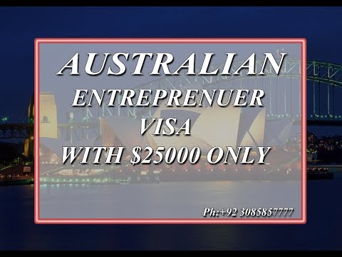 SOUTH AUSTRALIA ENTREPRENEUR VISA