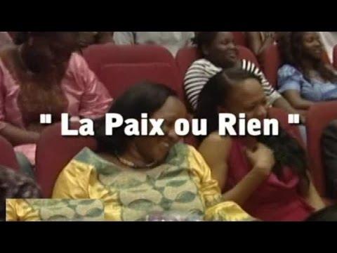 SPECTACLE 1 AN DE JTZ - LA PAIX OU RIEN - COTE D'IVOIRE
