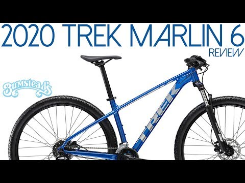 Mountain Bike Review: 2020 Trek Marlin 6 in Gorgeous Alpine Blue