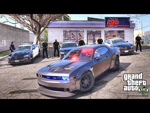 GTA 5 MODS LSPDFR 891 - DETECTIVE WORK!!! (GTA 5 REAL LIFE PC MOD) HELLCAT