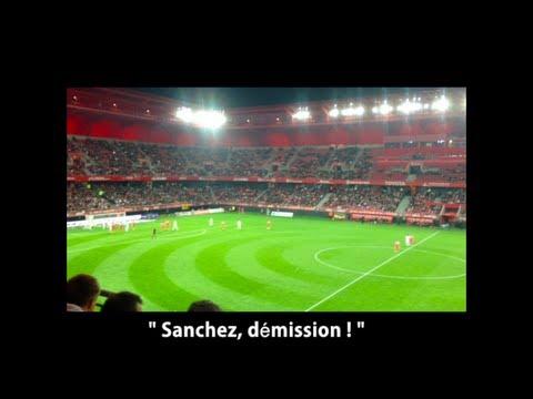 """Valenciennes – Reims / Chants des supporters : """"Sanchez, Casse-Toi"""" """"Sanchez, Démission""""…"""