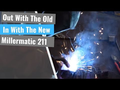 SMA Buys A New Welder: Miller Millermatic 211