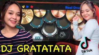 DJ GRATATATA - TIK TOK VIRAL TERBARU 2021 | REAL DRUM COVER