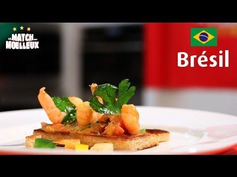 Brésil : La recette du Match des Moelleux !