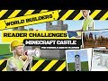 Challenge: How fast can you build this castle in Minecraft? GWR Gamer's Edition