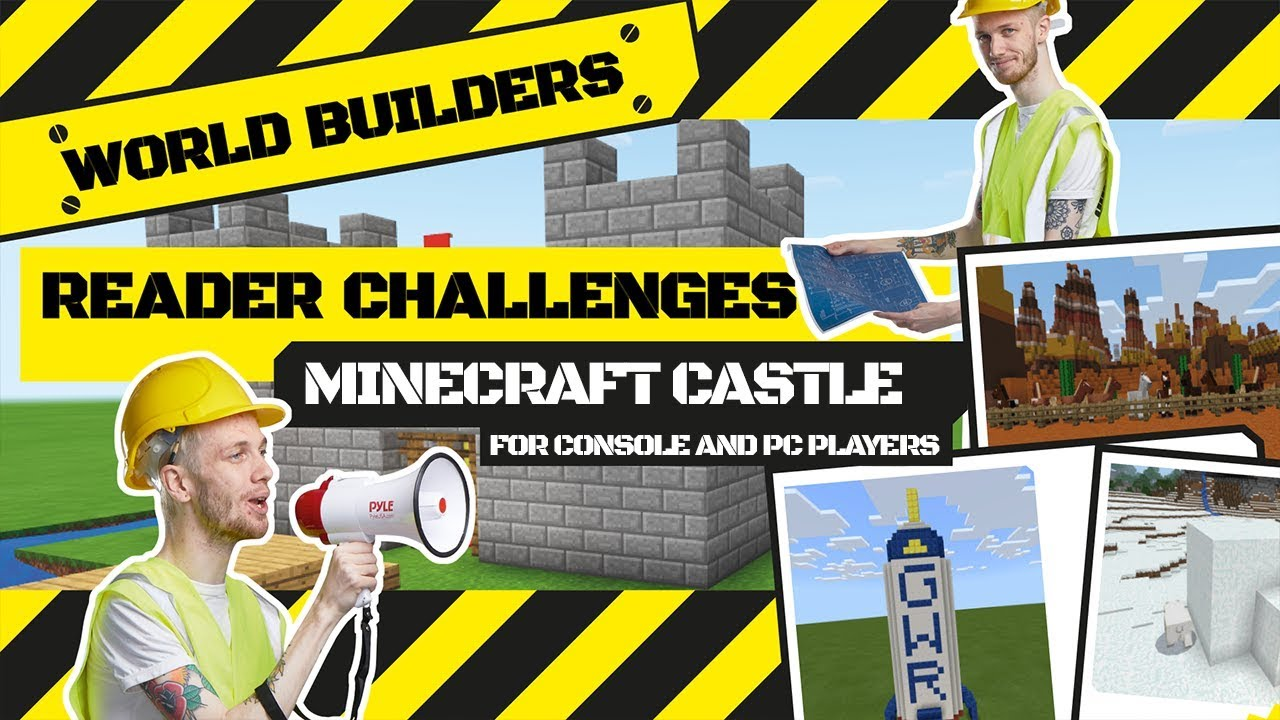 Fastest time to build a castle in Minecraft creative mode - GWR Gamer's Edition
