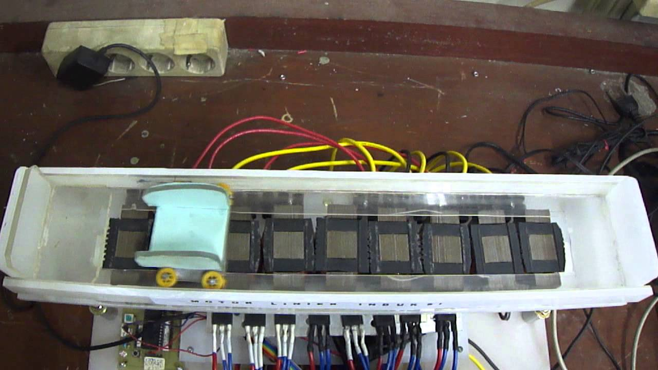 Linear induction motor design 4 phase based pic 18f4550 for Linear induction motor design