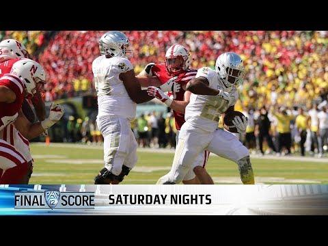 Highlights: Oregon football starts fast, hangs on late to beat Nebraska, 42-35